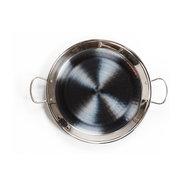 Paellapanna i rostfritt stål - 30cm / 4 portioner